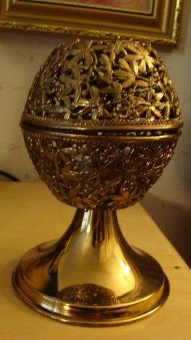 Turun Hopea munanmallinen kynttilänjalka