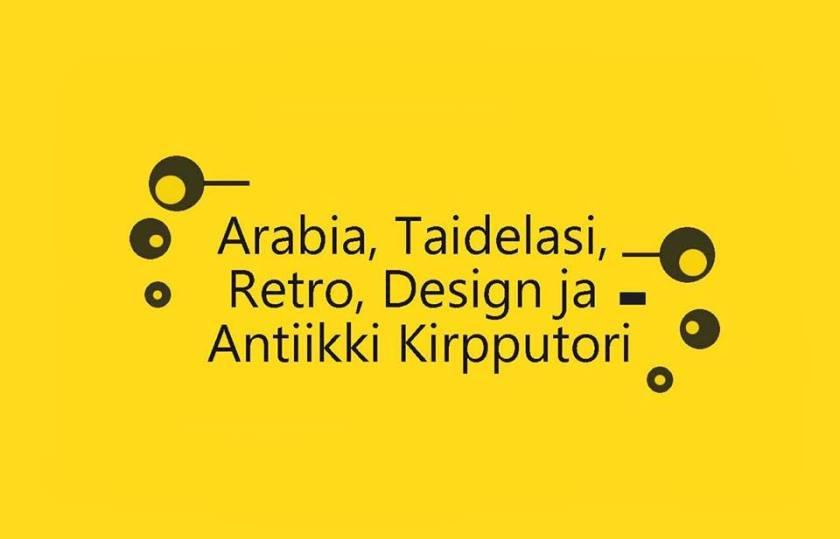 Arabia, Taidelasi, Retro, Design ja Antiikki Kirpputori